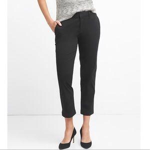 Slim City Crop Pants, sz 6, w stretch